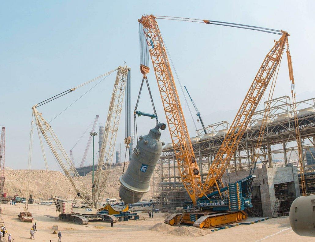 Boushehr Petrochemical Plant - RAMPCO Group